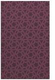 rug #462153 |  purple geometry rug
