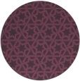 rug #462505 | round purple rug