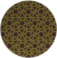 rug #462509 | round purple rug