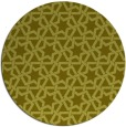 rug #462601 | round light-green rug
