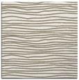 rug #462985 | square beige stripes rug