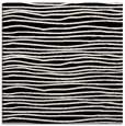 rug #462989   square white stripes rug