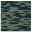 rug #463021 | square blue stripes rug