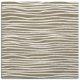 rug #463125   square mid-brown rug