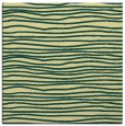 rug #463189 | square yellow stripes rug