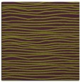 rug #463213 | square purple stripes rug