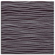 rug #463221 | square purple stripes rug