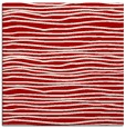 rug #463225 | square red stripes rug