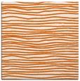 rug #463253 | square red-orange rug