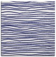 rug #463265   square white stripes rug