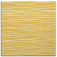 rug #463273 | square yellow stripes rug