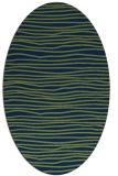 rug #463373   oval blue popular rug