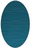 rug #463392 | oval stripes rug