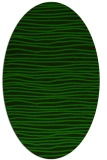 rug #463406 | oval stripes rug