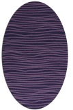 rug #463433 | oval stripes rug