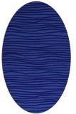 rug #463441 | oval blue-violet rug