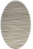 rug #463477   oval mid-brown popular rug