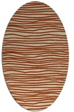 rug #463536 | oval stripes rug
