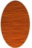 rug #463594   oval stripes rug