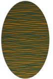 rug #463644   oval stripes rug