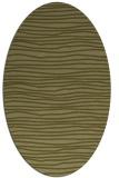 rug #463670 | oval stripes rug