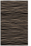 rug #463701 |  black stripes rug