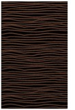 rug #463705 |  brown stripes rug