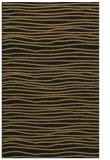 rug #463709 |  black stripes rug