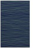 rug #463721    blue-green stripes rug