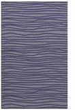 rug #463777 |  blue-violet stripes rug