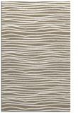 rug #463829 |  white stripes rug