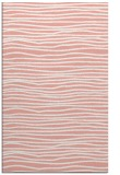 rug #463909 |  white stripes rug