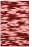 rug #463929    red stripes rug
