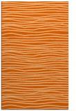 rug #463949    red-orange stripes rug
