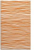 rug #463957 |  red-orange popular rug