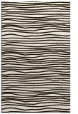 rug #463985 |  brown stripes rug