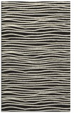 rug #463997    black stripes rug