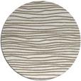 rug #464041   round beige stripes rug