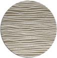 rug #464181 | round white stripes rug