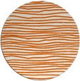 rug #464309 | round red-orange popular rug