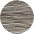 rug #464337 | round brown rug