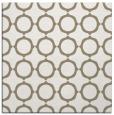 rug #464745 | square beige circles rug
