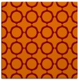 rug #464933 | square red-orange rug