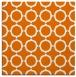 rug #464937   square orange rug