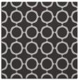rug #464945 | square red-orange circles rug