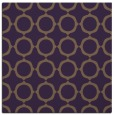rug #464977 | square purple circles rug