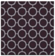 rug #464981 | square purple circles rug