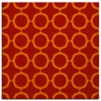 rug #464989 | square red circles rug