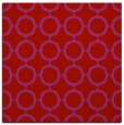 rug #464997 | square red circles rug