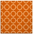 rug #465005 | square red-orange circles rug
